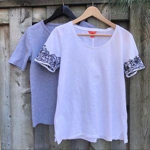 J Crew Perfect Fit & Joe Fresh T shirts (2 T's)